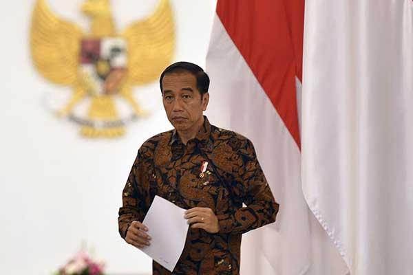 Jokowi Gaungkan Benci Produk Luar Negeri