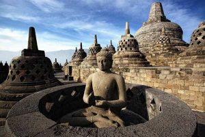 Nadiem Makarim Siap Jadikan Candi Borobudur Sebagai Cagar Budaya Kelas Dunia