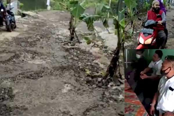 Perangkat Desa yang Marahi Guru Posting Jalan Rusak, Berjanji Akan Perbaiki
