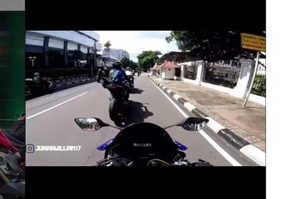Polisi Periksa Pengendara Motor yang Terobos Penjagaan Paspampres