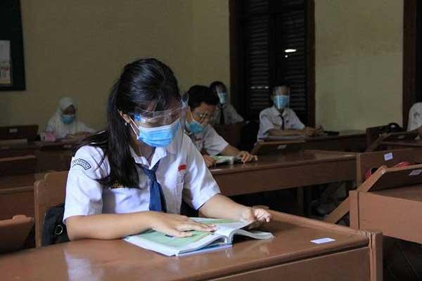 Sejumlah SMP di Solo Akan Gelar Simulasi PTM Pada Pekan Depan