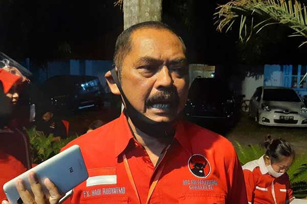 FX Rudy Dukung Prananda Prabowo Gantikan Megawati Sebagai Ketum PDIP