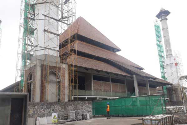 Gibran Beri Sinyal Lanjutkan Proyek Masjid Sriwedari