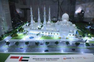 Gibran Janji Masjid Raya Seikh Sayed Selesai Tahun Depan