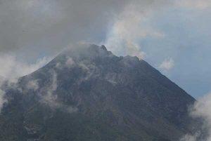 Gunung Merapi Kembali Erupsi pada Kamis Siang Ini