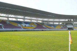 Lampu Stadion Manahan Ditingkatkan Jelang Semifinal Piala Menpora 2021