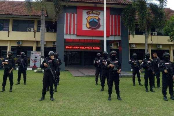 Polresta Solo Berlakukan SOP Khusus Personel Lapangan