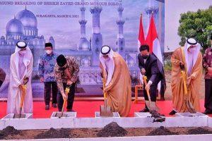 Proyek Masjid Kado Pangeran Arab Belum Mulai, Ini Penjelasan Gibran