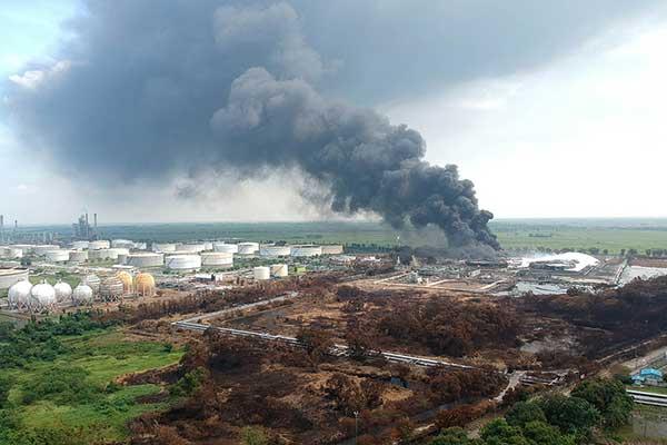Satu Tangki di Kilang Pertamina Indramayu Kembali Terbakar
