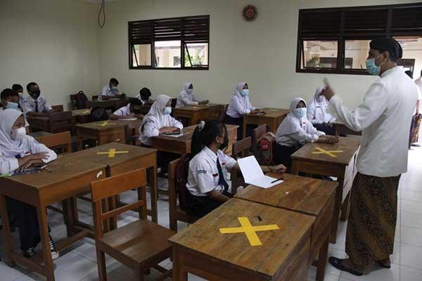 Sebagian SMP Kota Solo Tak Lanjutkan Uji Coba PTM Ke Fase II
