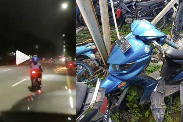 Viral Balap Liar Berujung Kecelakaan di Solo