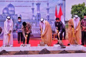 Waskita Karya Jadi Kontraktor Proyek Masjid Raya Sheikh Zayed
