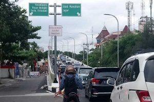 Arus Lalu Lintas Kendaraan di Solo Terpantau Masih Normal